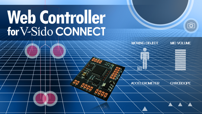 Web Controller for V-Sido CONNECT